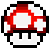 Red Mushroom Icon by crookedcartridge