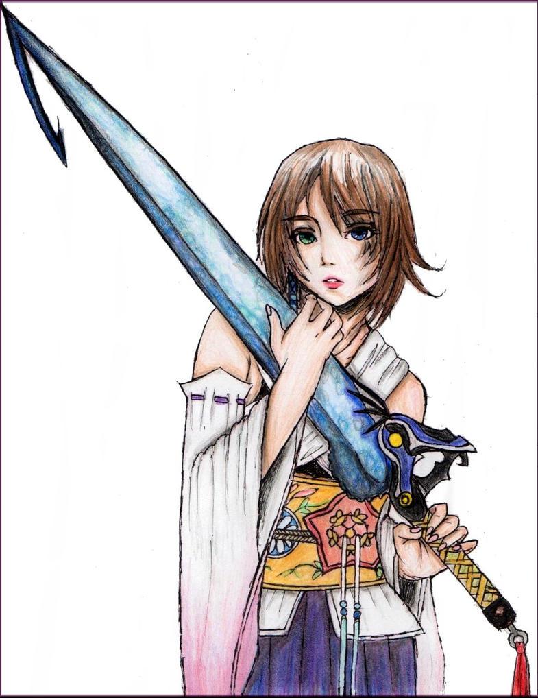 Yuna_with_Tidus___Sword_by_NoTickleElmo.