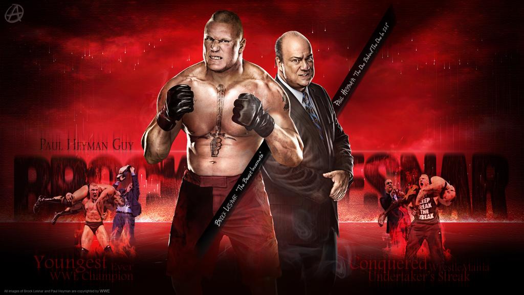 WWE Brock Lesnar Wallpaper By TheSpearstar