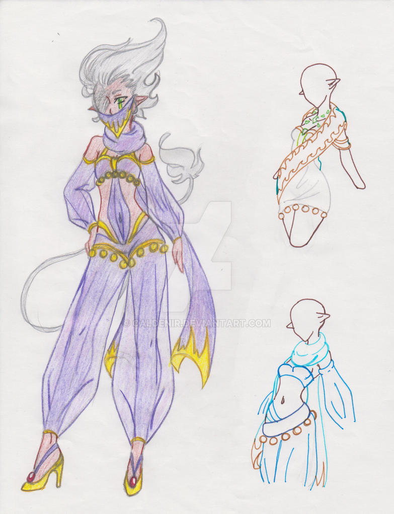 Gungnirs Battle Mage Outfits by M3004