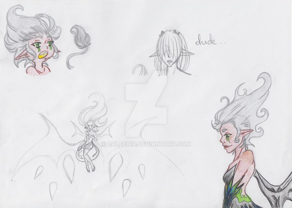 Gungnir Sketches by M3004
