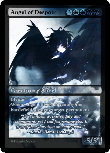 Angel of Despair by PandaNekoTaiso on DeviantArt