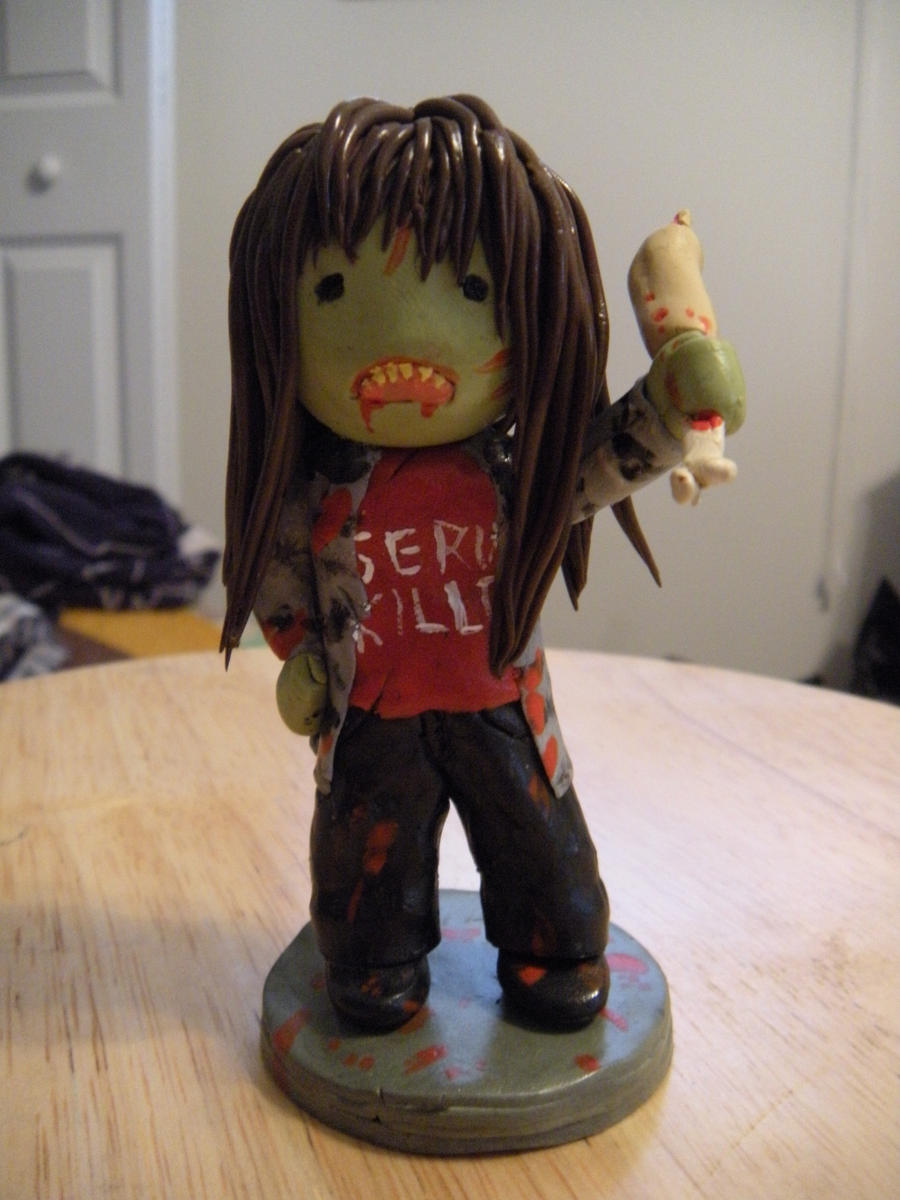 Zombie Angela by Rotten-Alice