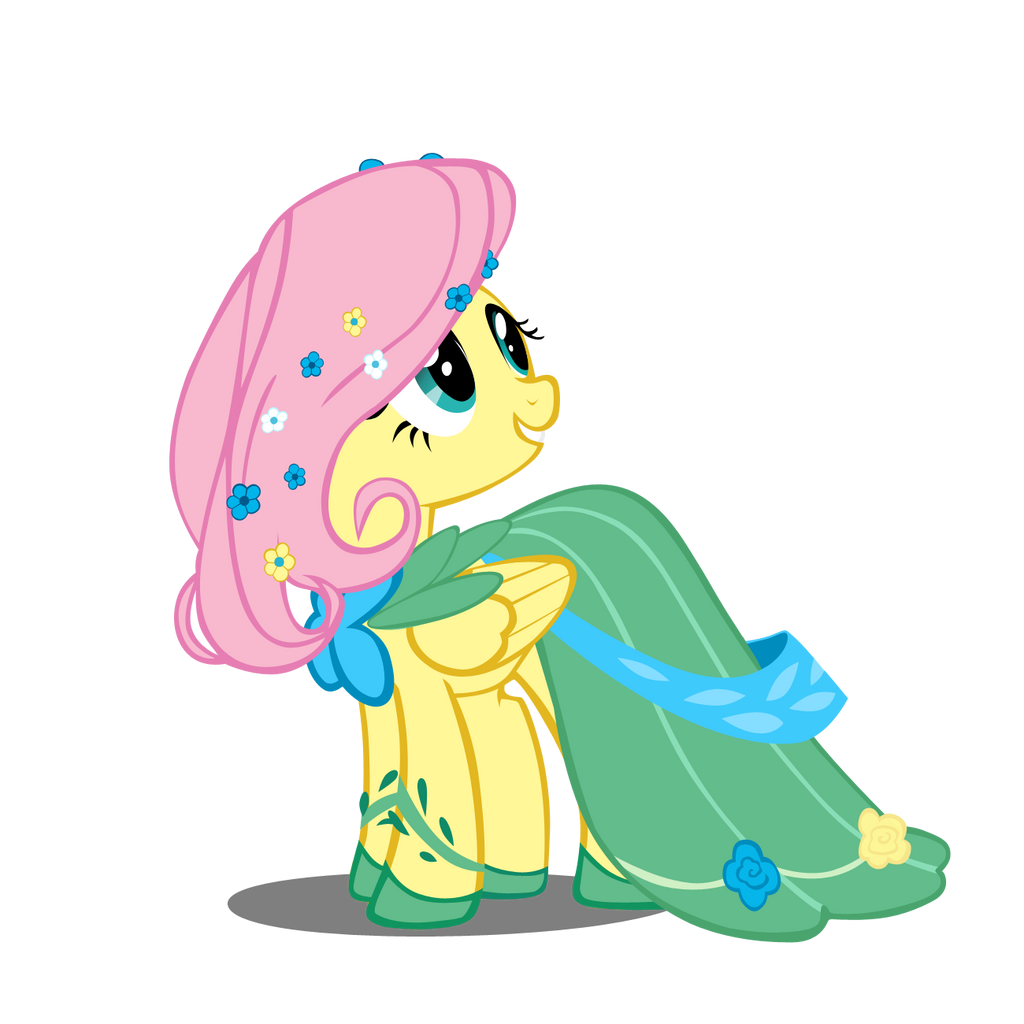 Fluttershy At The Gala By Takua770 On DeviantArt