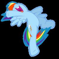 Rainbow Dash: Speed, Agility and Guts by Takua770
