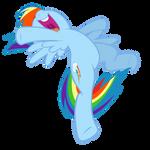 Rainbow Dash: Speed, Agility and Guts
