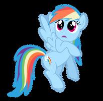 Rainbow Dash: Like I'm Gonna Thank Her by Takua770