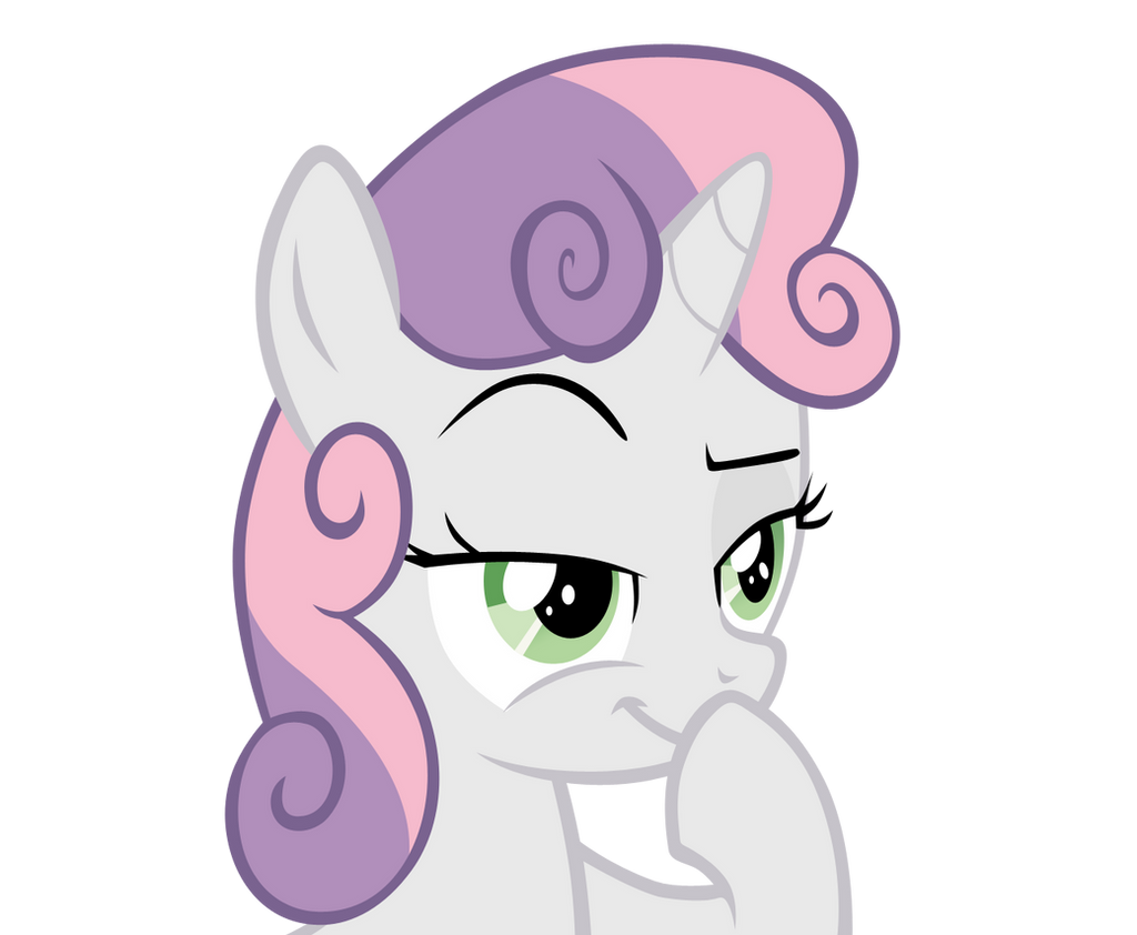 Sweetie Belle: Plotting by Takua770