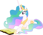 Princess Celestia Reading - Season 2 Poster