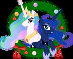 Celestia and Luna - Seasons Greetings