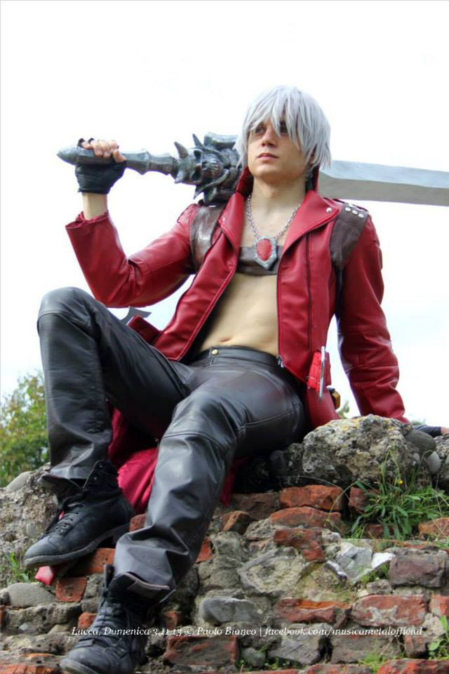 Dante Devil May Cry 3 Cosplay By Francescodantecaputo On