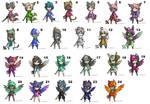 Cheap Character Adopts Batch 1-(OPEN 17/21)