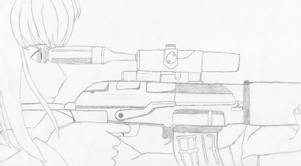 Gunslinger Girl: Rico by ChrisXLee