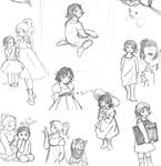 Baby Baudulaire sketches