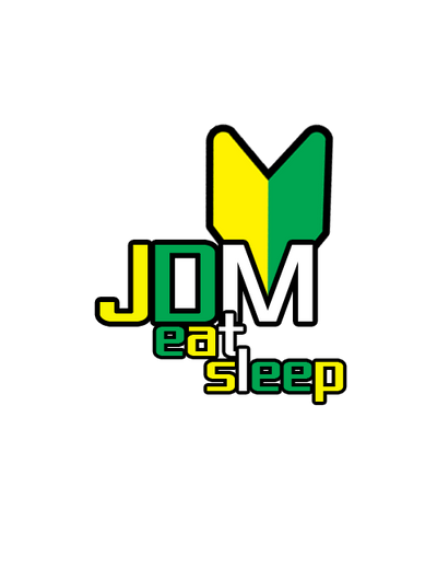 JDM Eat Sleep Sticker By BenTuning
