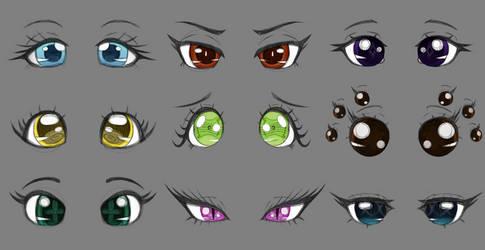 Heartbeat Eye Sketches
