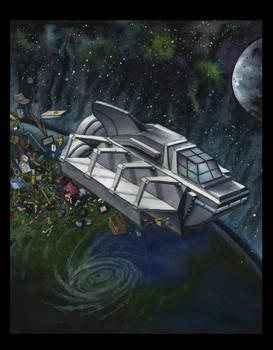 Intergalactic Rubbish