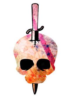Street Art Skull Graphic