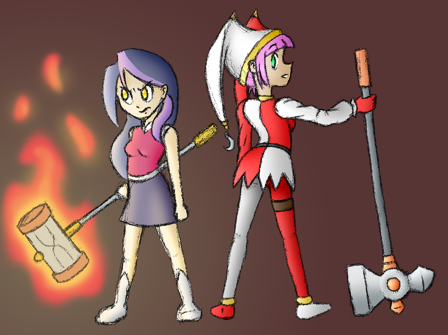 Hammer Sisters by HowlsInTheDistance