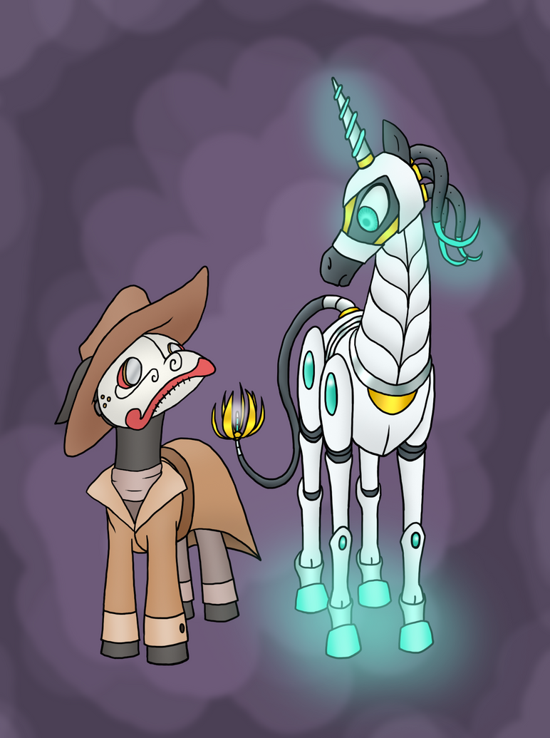 Professor Templetrot and Odyssey by HowlsInTheDistance