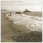 Walking by the Seaside