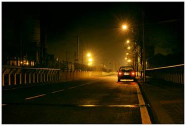 Night Traffic by JoseMelim