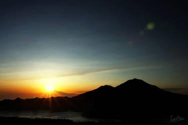 Mount Batur Sunrise by ditya