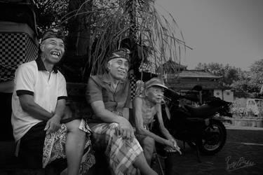 Balinese Old Man by ditya
