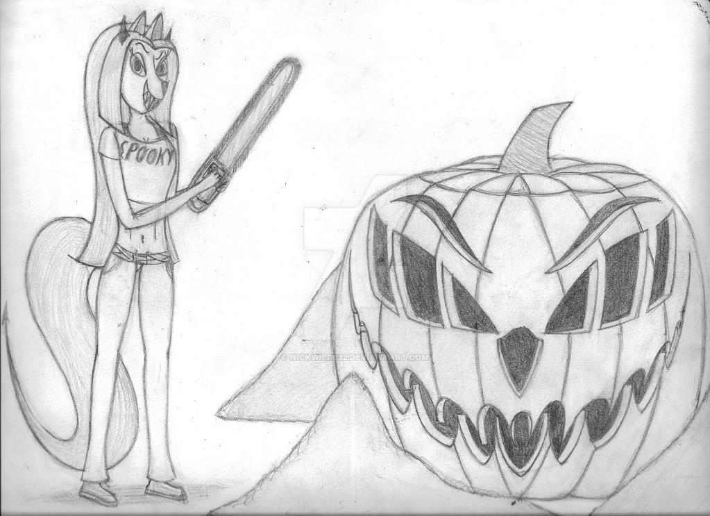 Happy Halloween by nickwilde32