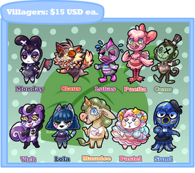 Villager Adopts: $15/1500p (8/10 OPEN)