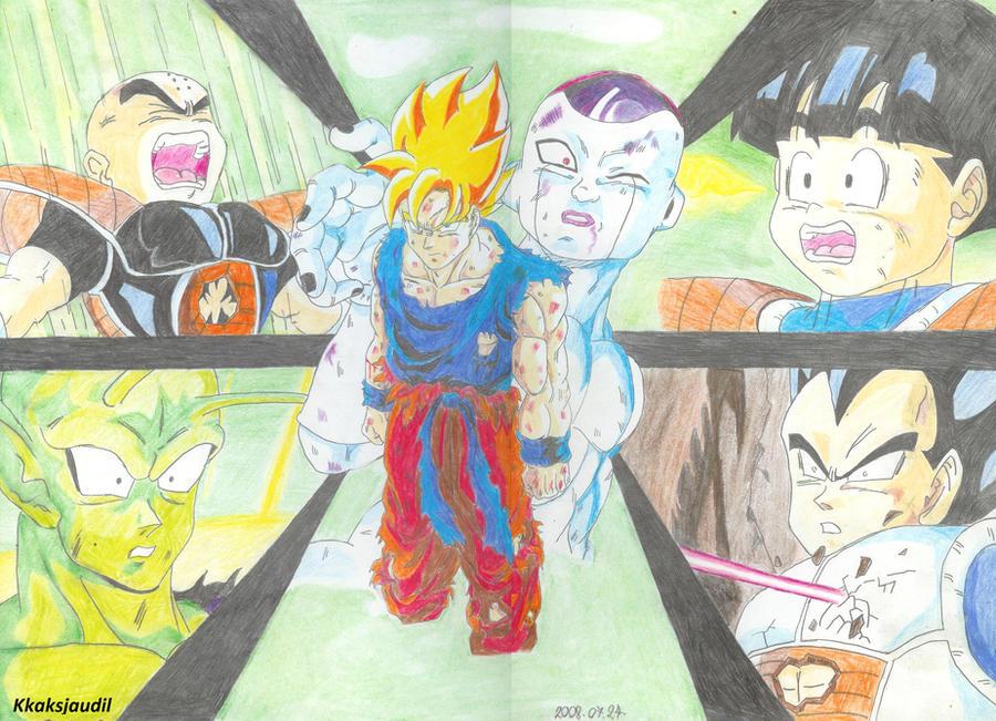 Dragonball Z - Goku's Revenge by kkaksjaudil