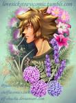 Eban Floral Portrait