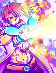Mieu Ray Gun by Elf-chuchu