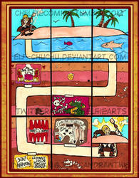 Eizen's Tunnel Map by Elf-chuchu