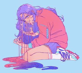 headache by dekuhornet
