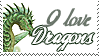 I love dragons by StarkArya