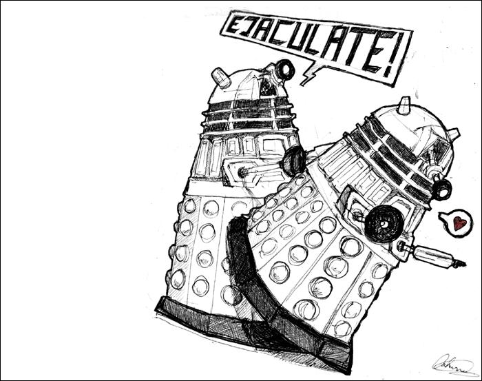 Dalek yaoi by Ungapants