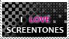 Screentone stamp by Astralstonekeeper