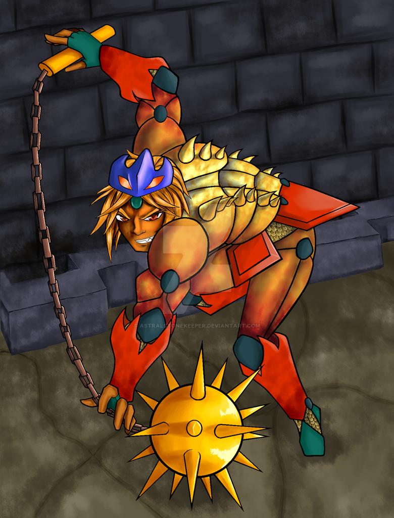 -Helmasaur King- by Astralstonekeeper