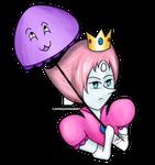 Princess Pearl and Amethyst Parasol