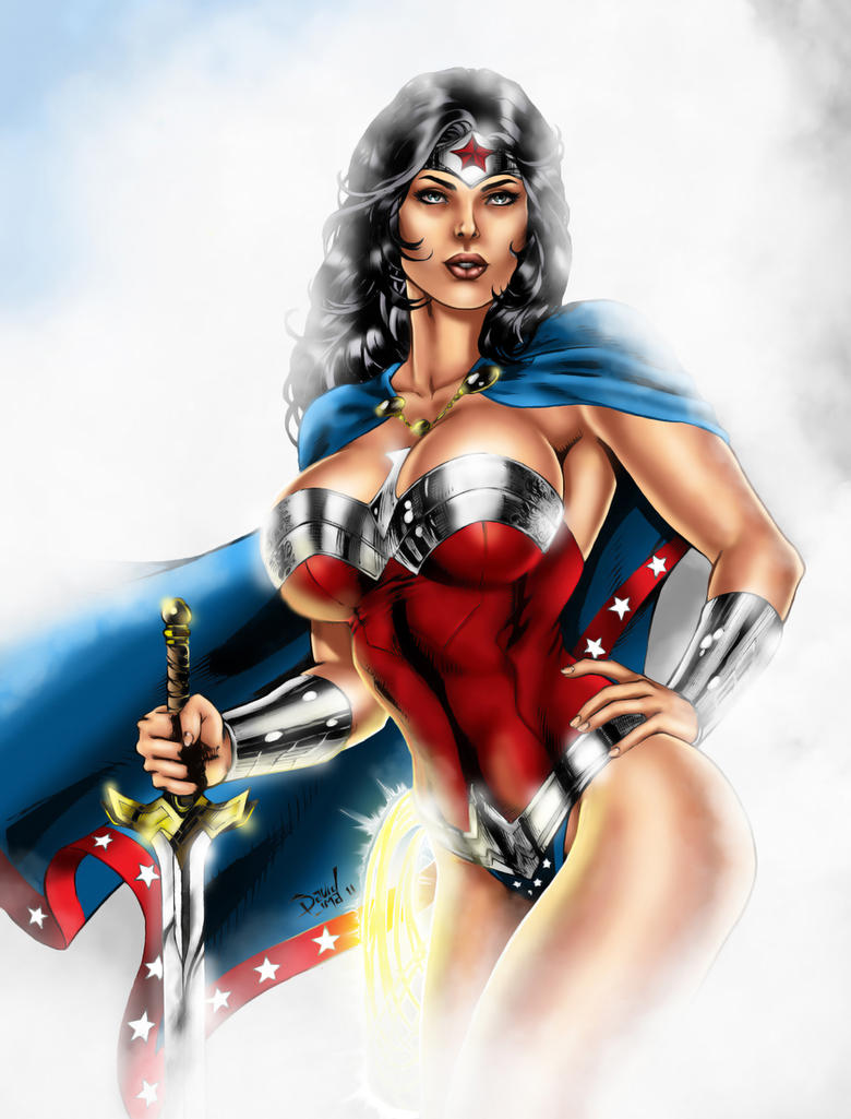 Wonder_Woman by Control-X