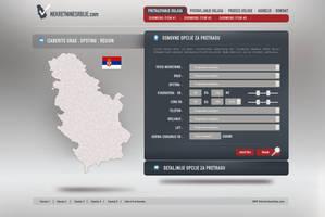 nekretnine srbije layout by sniperyu