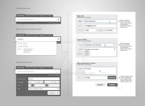 Web Form Elements Vol.2