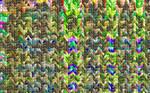 Random Colorful mosaic