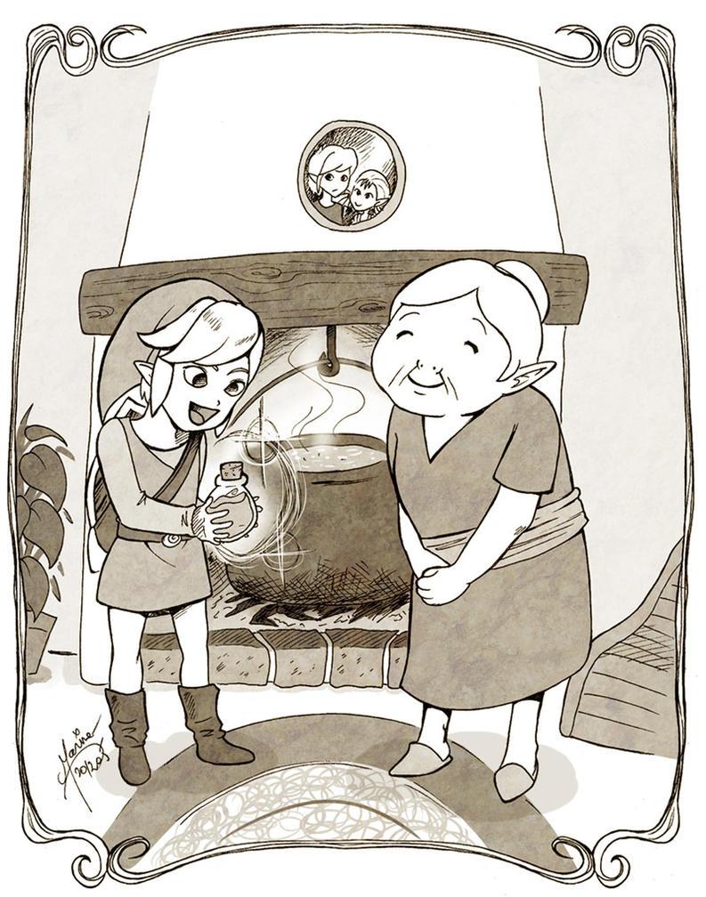 My Grandma by Mahogany-Fay