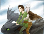 Flight - Hiccup and Jack
