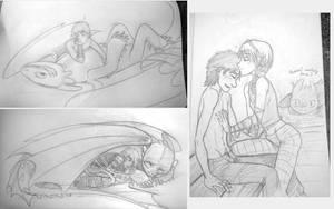 Httyd2 doodles batch 02