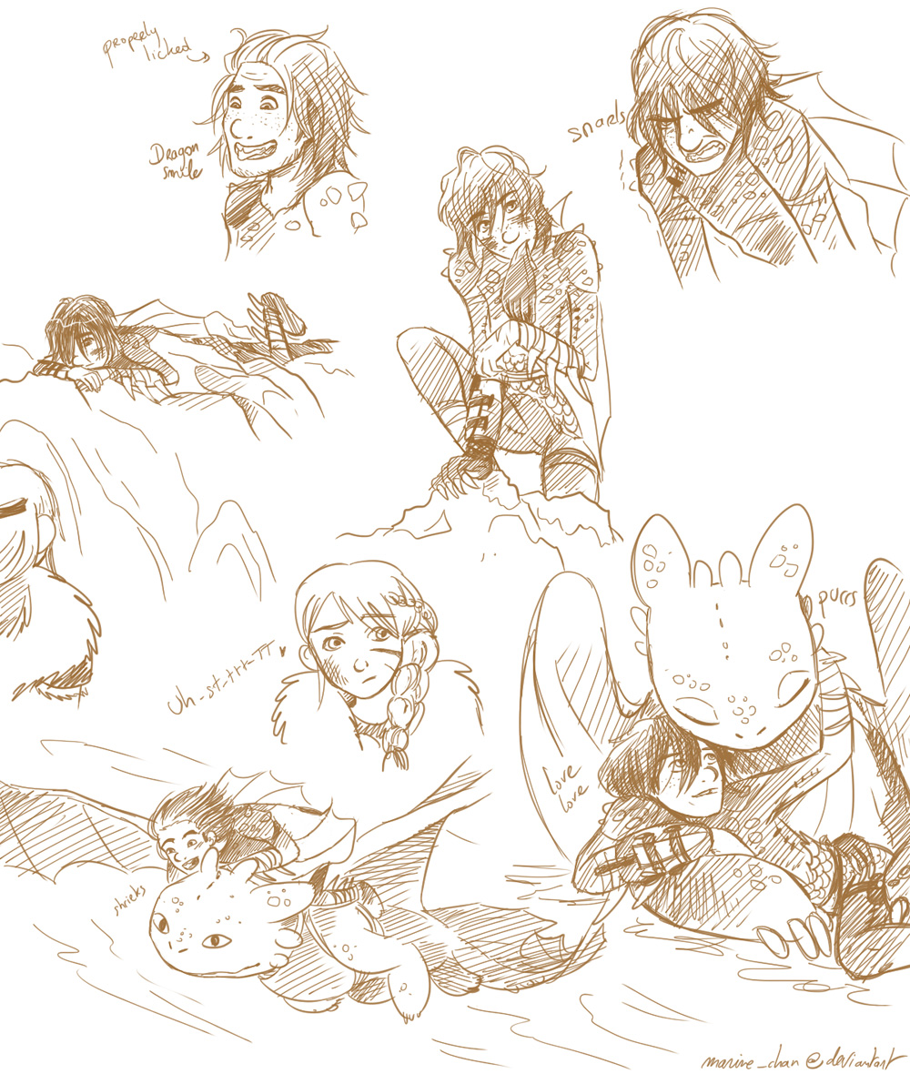 Httyd Fanfiction Little Hiccup And Toothless