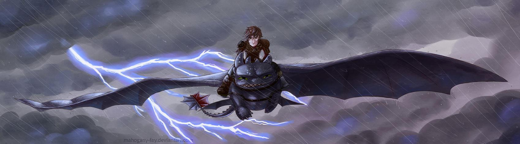 In the storm by Mahogany-Fay