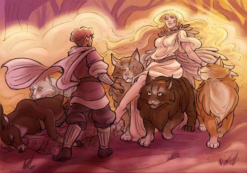Apparition of Freya
